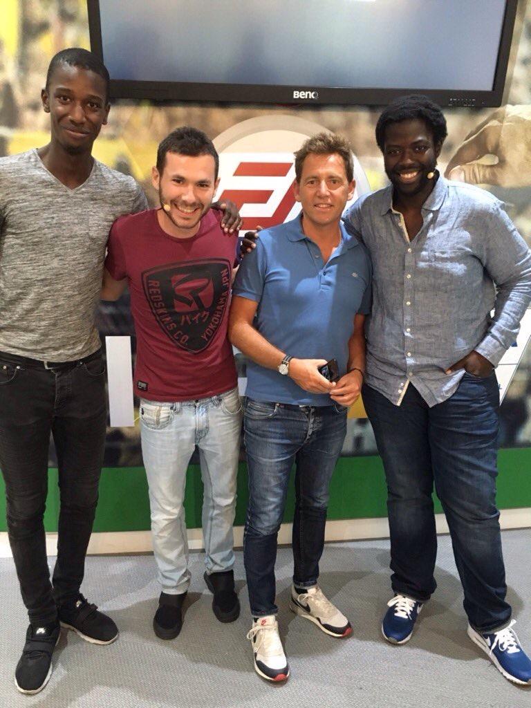 Daniel Riolo Ambassadeur De Ea Sports Fifa 17 Tp Consulting